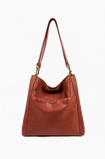Austin Triple Entry Hobo, Brandy