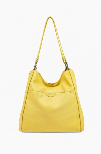 Austin Triple Entry Hobo, Pale Yellow