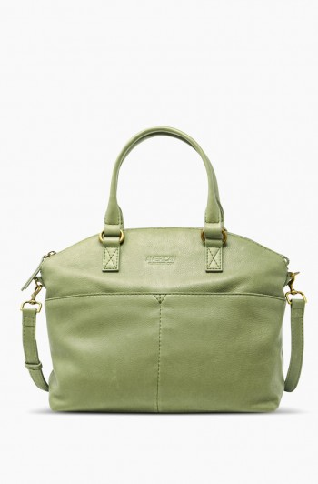 Carrie Dome Satchel, Sage