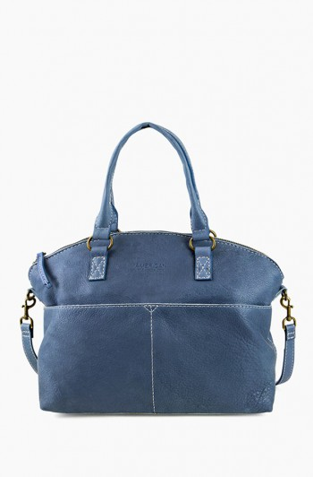 Carrie Dome Satchel, Bay Blue