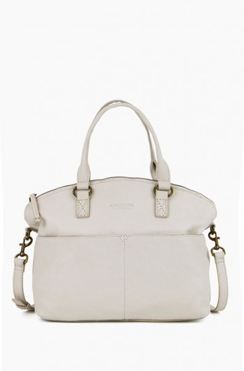 Carrie Dome Satchel, Stone