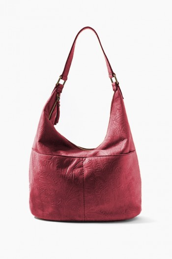 Carrie Hobo, Bordeaux Tooled