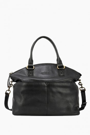 Carrie Dome Satchel, Black