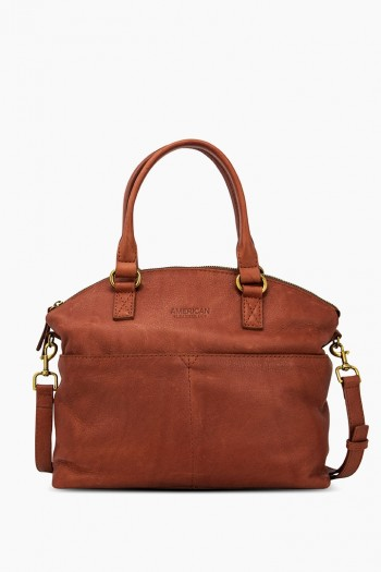 Carrie Dome Satchel, Brandy