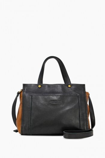 Evansville Crossbody, Black Multi