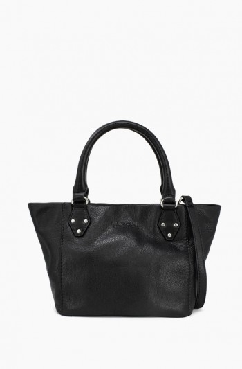 Frenchie Mini Tote, Black
