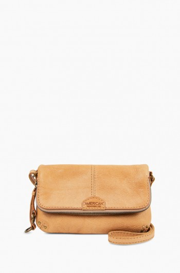 Ithaca Double Entry Crossbody, Butterum