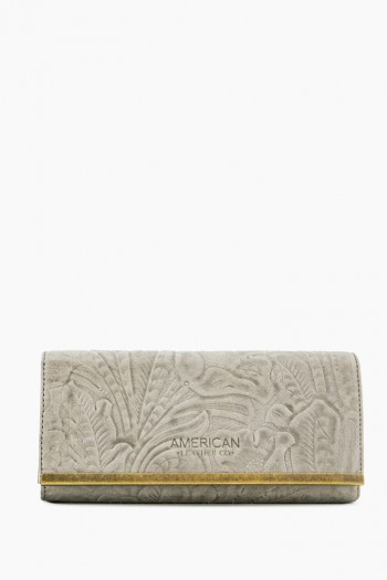 Jackson Tri-Fold Wallet, Granite Tooled