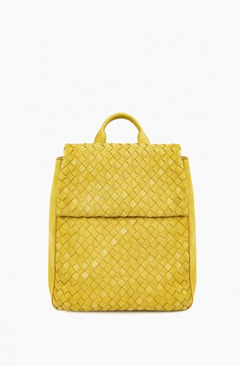 Liberty Backpack Woven, Pale Yellow