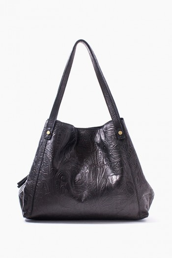 Liberty Shopper, Black Tooled