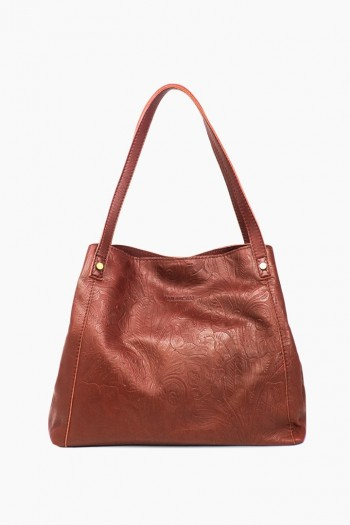 ca6c4a663 Liberty Shopper, Brandy Tooled