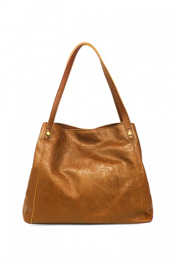 Liberty Shopper, Cafe Latte Tooled