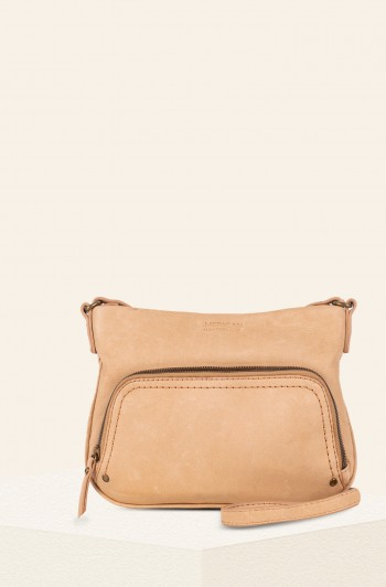 Ridgewood Zip-Around Crossbody, Vachetta Smooth