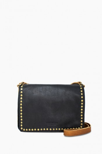 Roslyn Flap Crossbody, Black Multi