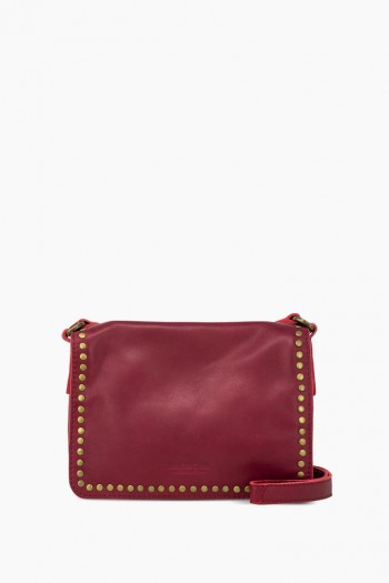 Roslyn Flap Crossbody, Bordeaux