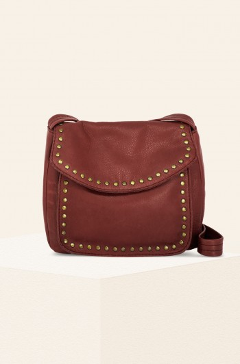 Roslyn Vintage Crossbody, Brandy Smooth