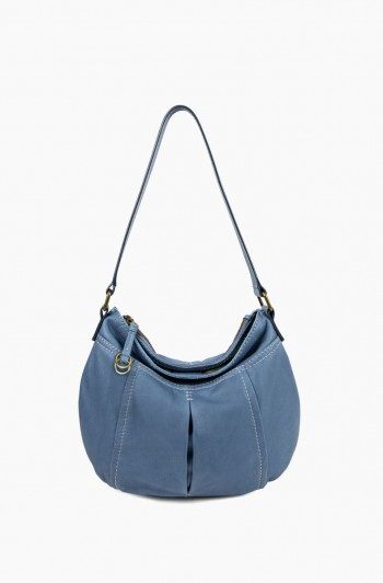 Vienna Double Entry Hobo, Bay Blue