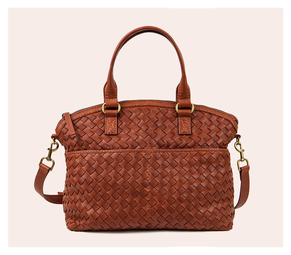 https://americanleatherco.com//bags/carrie-dome-satchel-woven-brandy.html